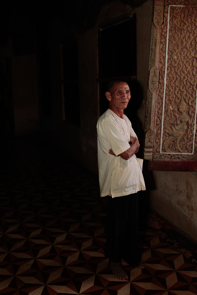 Cambodian Temple Keeper