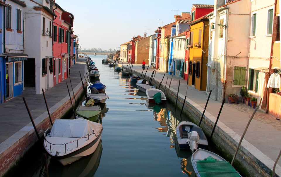 Canals of Burano