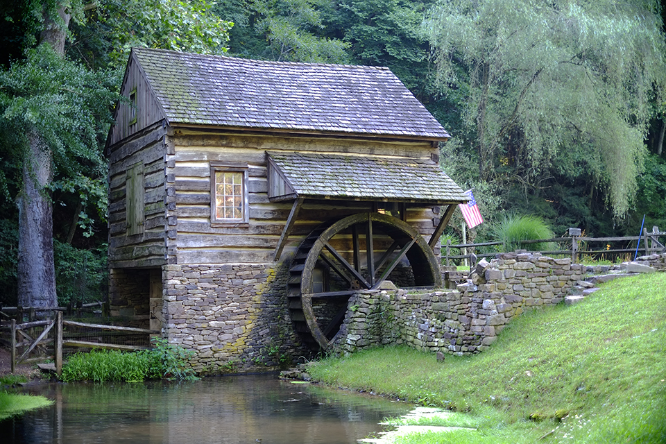 Historic Water Wheel, Bucks County, PA