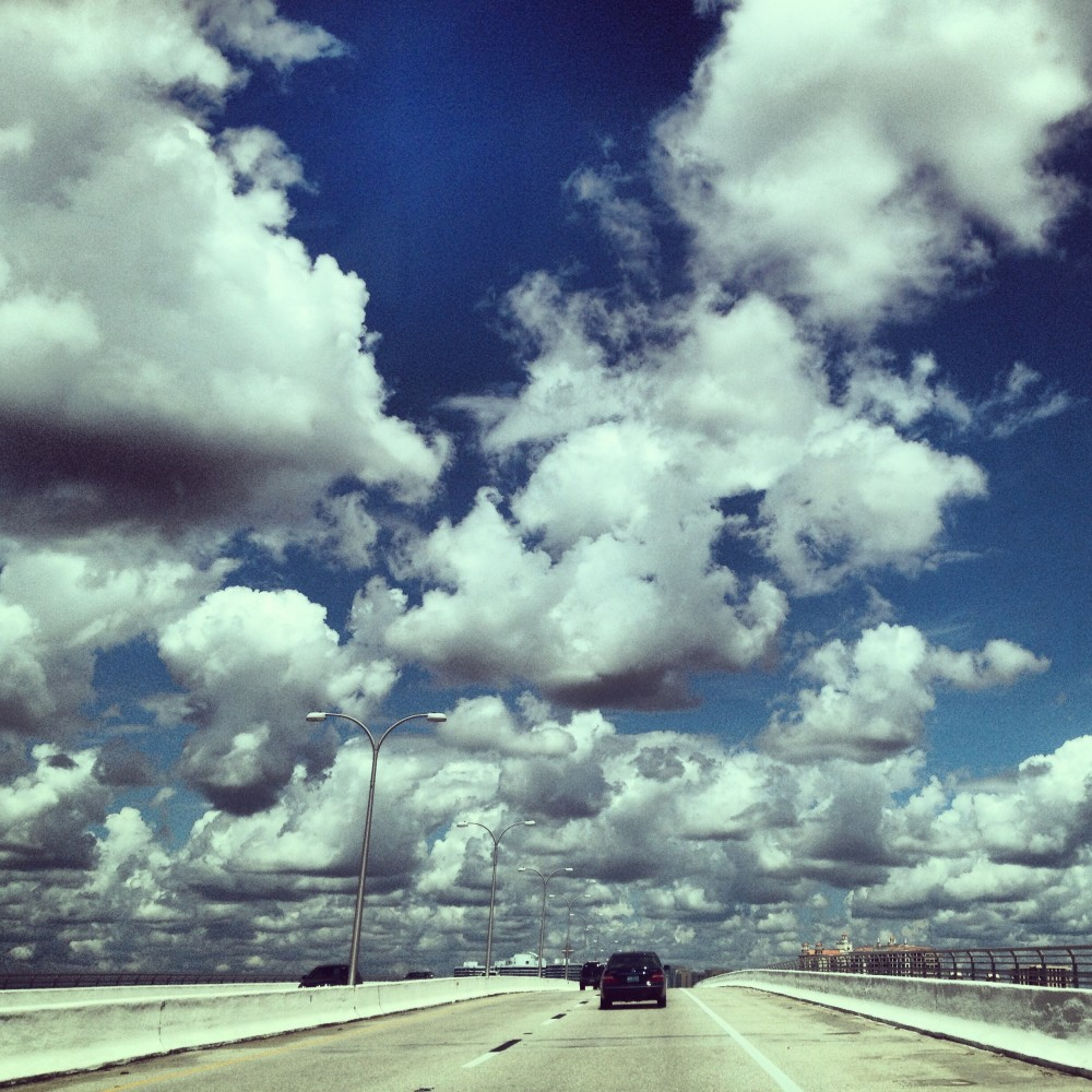 On the road in Sarasota, Florida