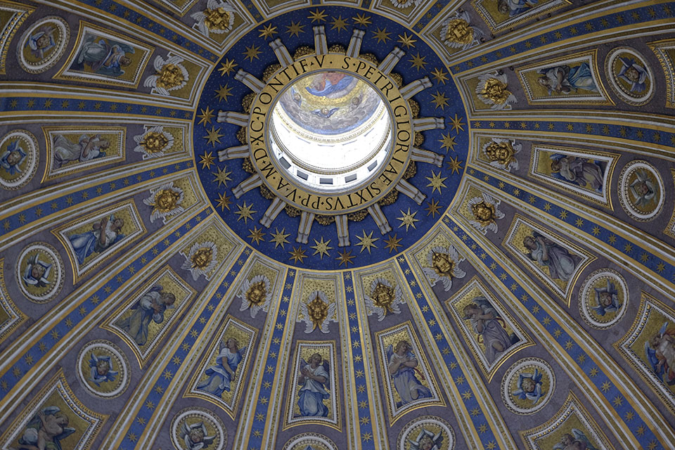 Dome of St. Peter's, Rome Italy