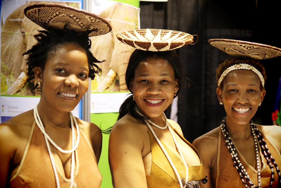 Botswana Dancers